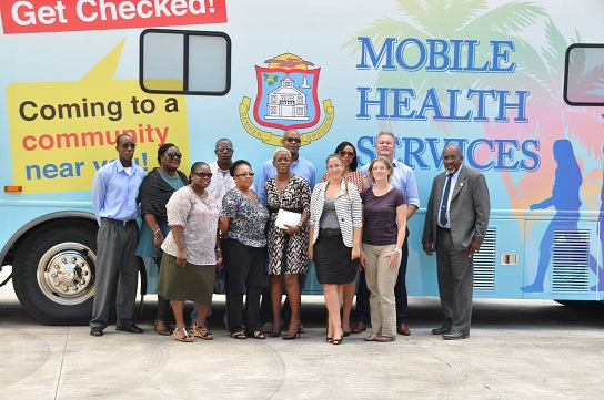 Mobile Health Bus hits the Districts
